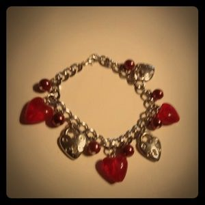 Jewelry - Hearts & locks bracelet